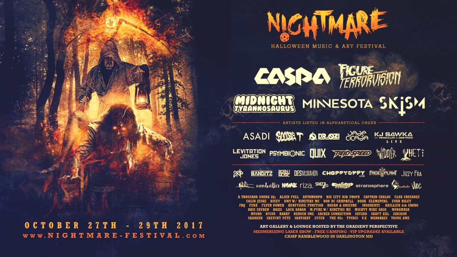 Photo of Event Preview: Nightmare Music Festival 2017