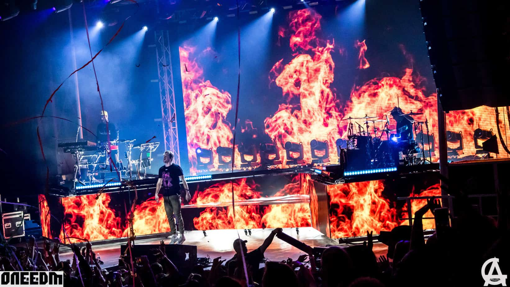 The Chainsmokers perform in Phoenix
